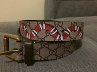 Gucci King Snake Belt Brand New!! 546 km