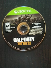 Call of Duty Advanced Warfare Xbox One game disc Charles Town, 25414