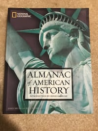 National Geographic Almanac of American History Vienna, 22180