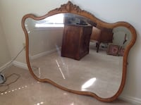 Antique Mirror Draper, 84020