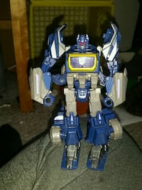 children's blue and gray Transformers robot toy Calgary, T2C 4M3