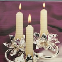 Silver Plated Candle Holder Toronto