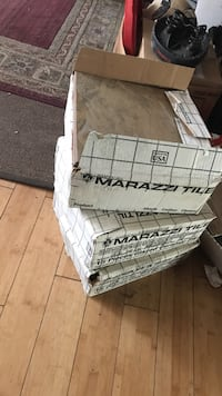 gray Marazzi tile in box lot 55 km