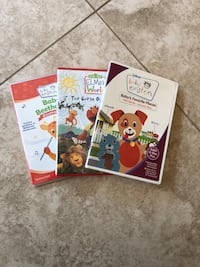 3 dvds: baby Einstein and elmo Derwood, 20855