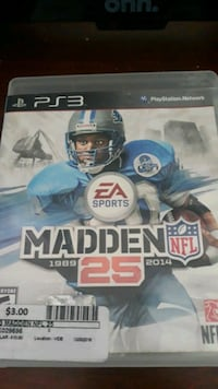 PS3 Madden 25th Anniversary