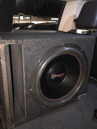 (OBO)) 15 inch American bass with 600 watt amp. All in very good condition Manchester, 37355