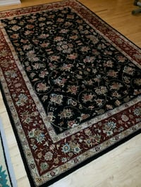6' x 9' area rug - wool and silk blend Mississauga, L4Z 4A3