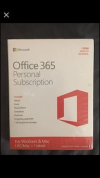 New in Package MS Office 365 Personal Subscription Markham, L3P 3T9