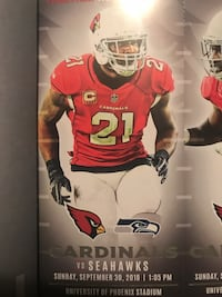 6 Lower Level tickets to Seahawks and Cardinals with parking pass  Peoria, 85345