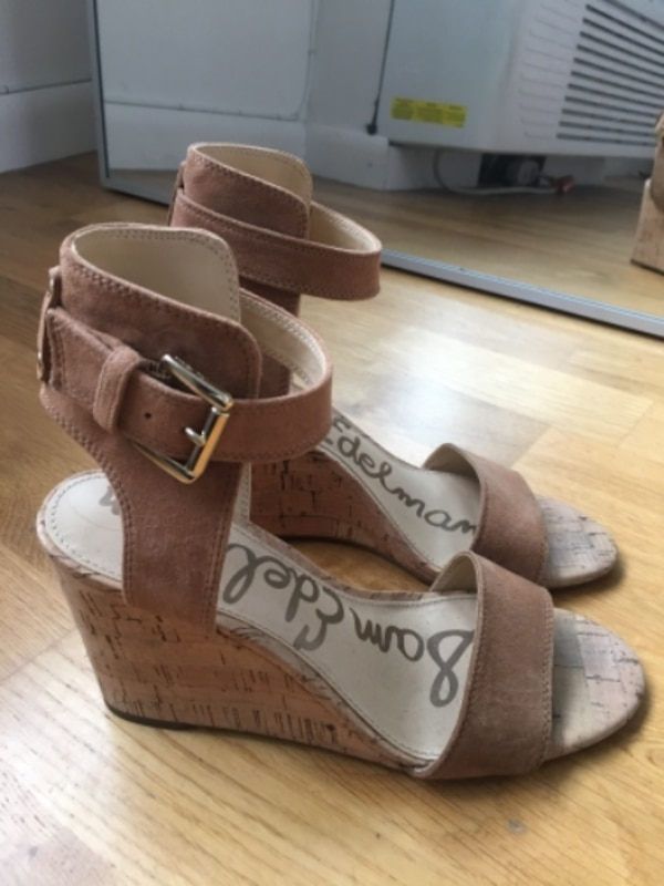 0b3af76b721a Used Sam Edleman - Willow Strappy Wedge Sandal for sale in New York - letgo