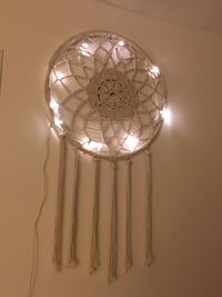 round white and brown pendant lamp Toronto, M5G 2R3