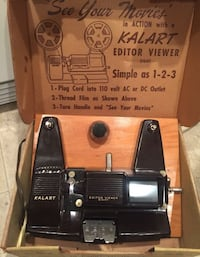 Antique kalart editor viewer for film