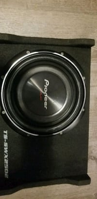 black and gray Pioneer subwoofer London
