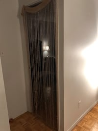 String curtains! Colors available: Gold glitter and silver glitter. 5$ each Montréal, H2L 1L3