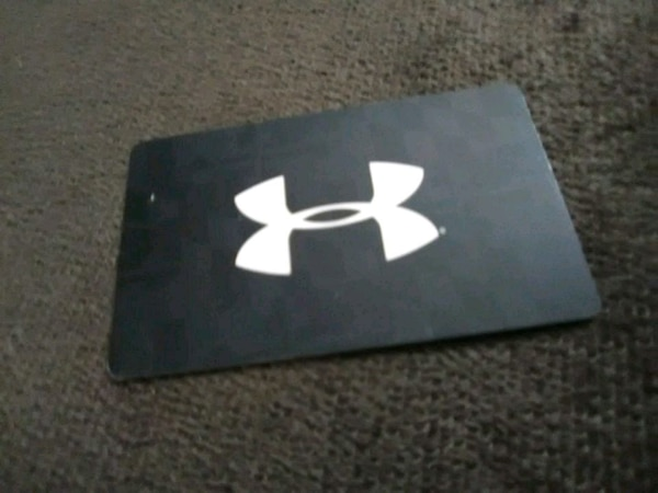 5ddfb37b4b Used Under armour gift card balance $23.43-$20 for sale in Midwest ...