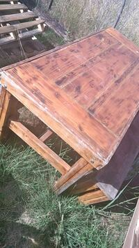 brown wooden table with chairs Gatesville