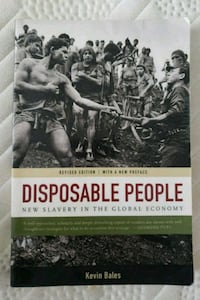 Disposable People by Kevin Bales Adelphi, 20783