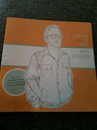 Ryan Gosling Coloring Book Collectible  Katy, 77494