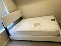 Brand New Queen Size Leather Platform Bed +Mattres Silver Spring, 20902
