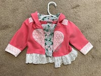 Duck Duck Goose 6-9 baby girl Set Los Angeles, 91606