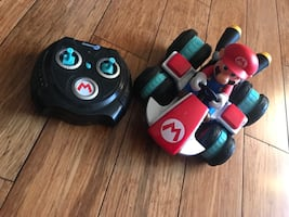 Mario Remote Controlled Kart, etc