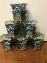 6 Glade Limited Edition Candles Warm Flannel Embrace 3.4 oz Scented Candles(pick up only) all $12 42 km