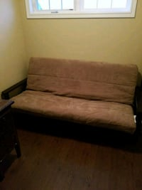 Futon with wooden arm rests Guelph, N1E 0E3