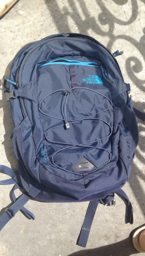 North face backpack - like new! (Used for 1 day)