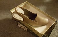 Light Tan lowHeel Dress Shoes size 10 excellent condition Columbia, 21044