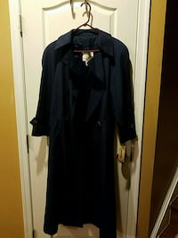 NWT Women's NewYork Harbor Long Trench Coat Ashburn, 20148