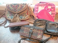 2 larger purses and 4 smaller ones. 50 for the lot