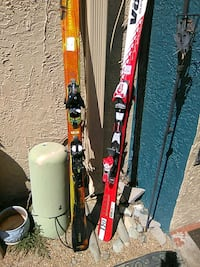 2 sets of skis one is Salomon skis and the other I Albuquerque, 87109