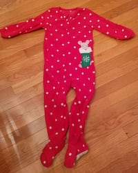 Carter's Kid's Christmas Pajamas, size 4t Sterling