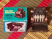 Die cast miniature National cash register pencil sharpener  Toronto, M2M 2H3