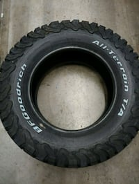 285/65R18set of 4 BF Goodrich truck tires.  Hedgesville