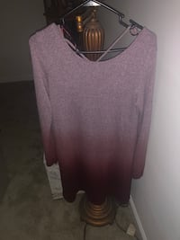 women's brown scoop neck shirt Columbus, 31904