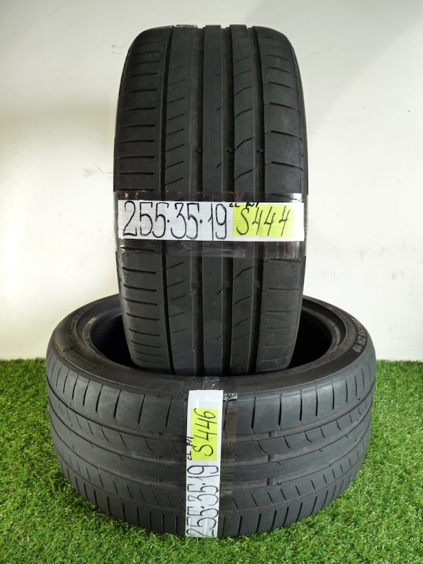 Used Tires Orlando >> 255 35 19 Continental Contisportcontact 5p 2 Used Tires 65 Life