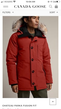 Men's Canada Goose Jacket barely used  London, N6A