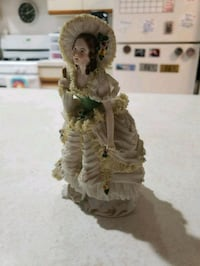 Rare ANTIQUE porcelain figurine made in GERMANY-ex Milford, 06460