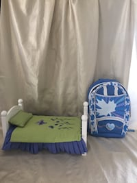Mapalea Bed and Backpack  Georgetown, L7G 1X6