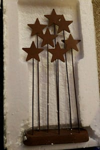 brown and black wooden wall decor 289 mi
