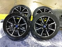 Ford Fiesta rims and tires need gone ASAP, Throw me an offer Wonder Lake, 60097