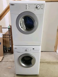 Whrilpool Stackable Washer and Dryer