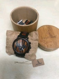 BOBO Bird watch made with real wood. Carmichael, 95608