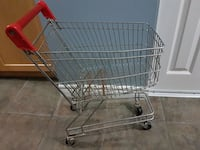 Kids metal shopping cart