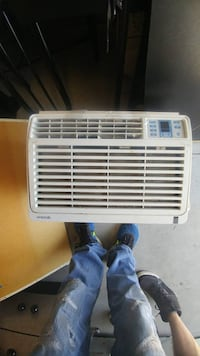 white LG window type air conditioner Laval