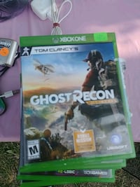 Ghost Recon Xbox One game case Spokane, 99207