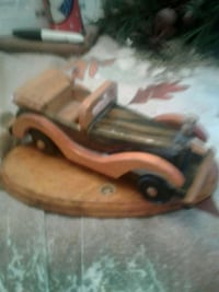 Antique wooden car/stand Toronto, M9C