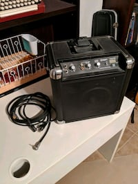 Ion Audio Tailgater amp with cords 352 km