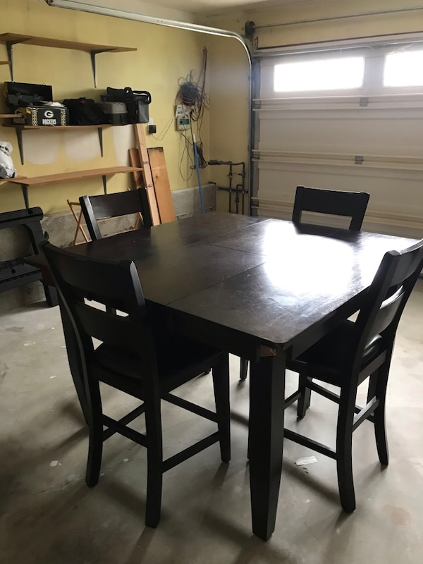Counter Height Table And Chairs With Bench